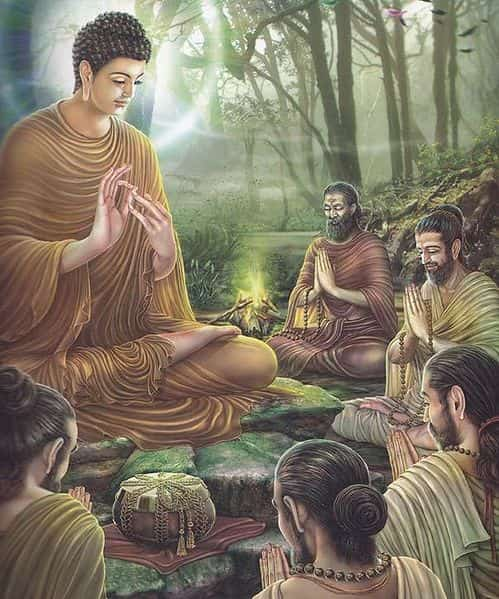 Gautama Buddha's Sermon