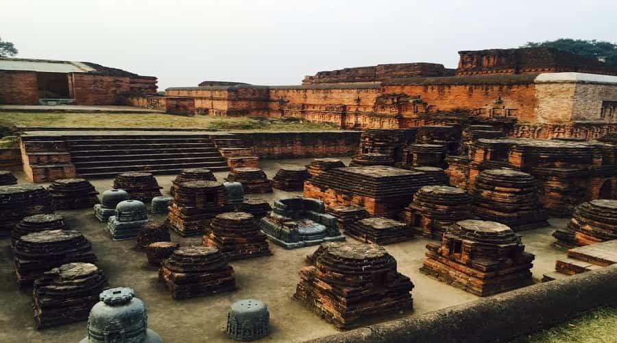 Ruins of Nalanda